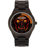 Limited Edition Harley Davidson Wood Watch