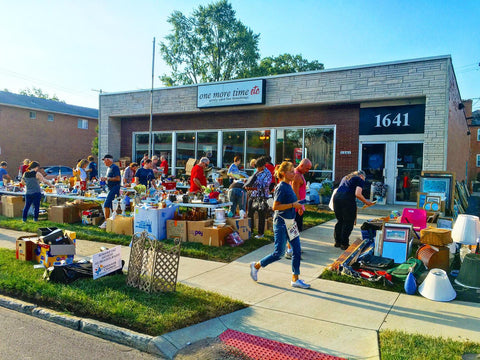 One More Time Consignment Stores Charity Sale