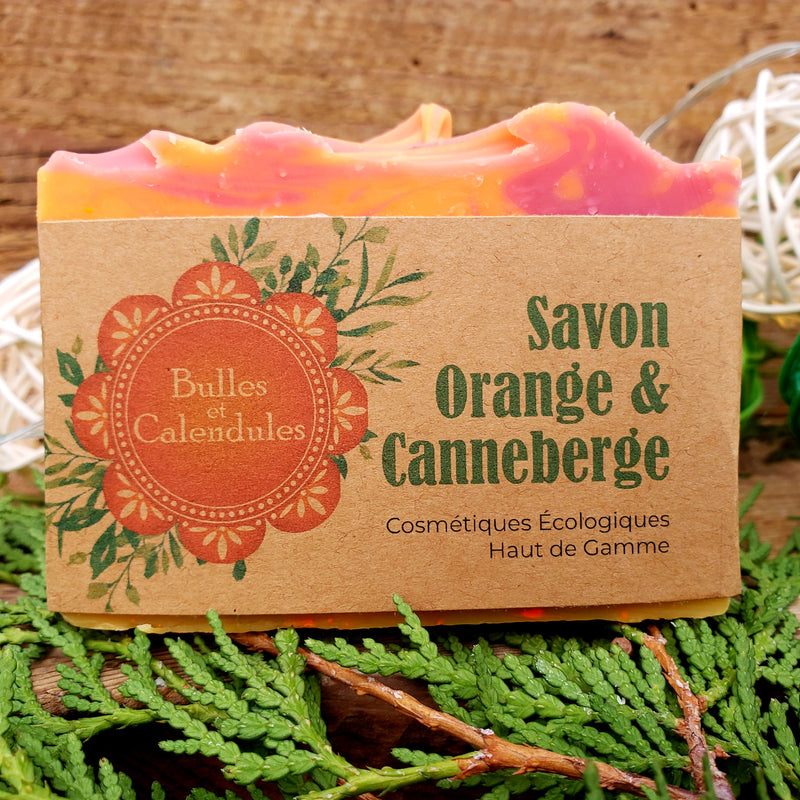 Savon - Orange & Canneberge