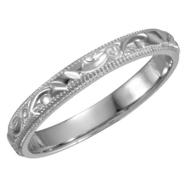 Band > 3mm > Hand-Engraved
