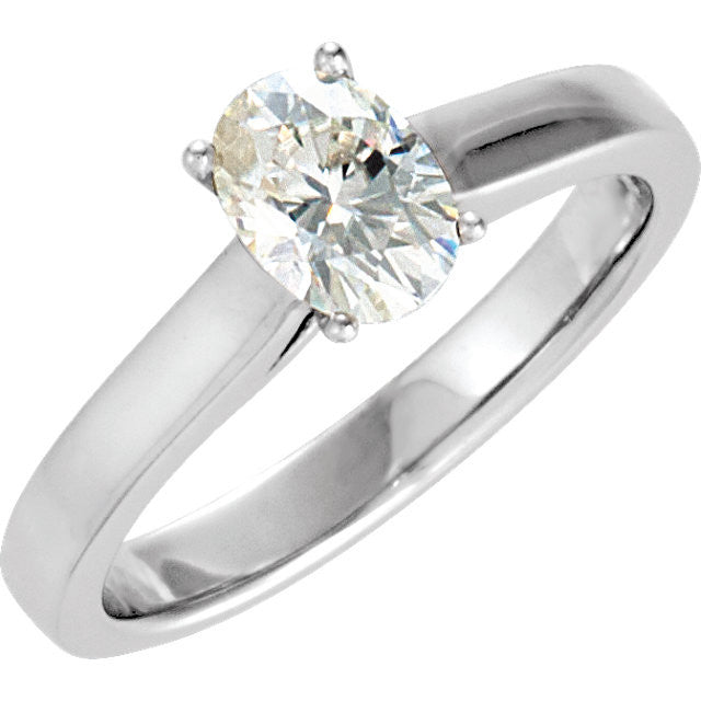 Ring > Engagement > Moissanite & Diamond > Created