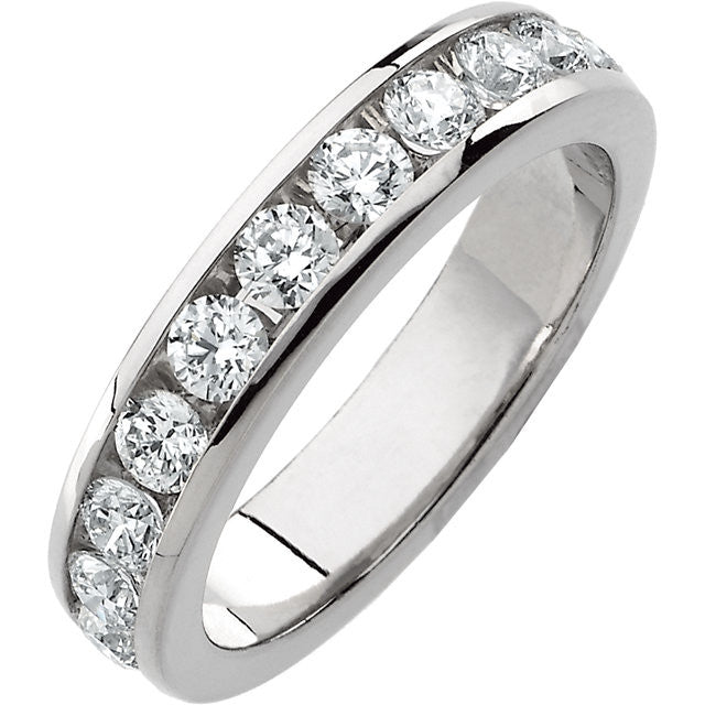Band > Anniversary > Diamond > 1/8 CTW > 1.*Multiple Diamond Cuts and Weights available*