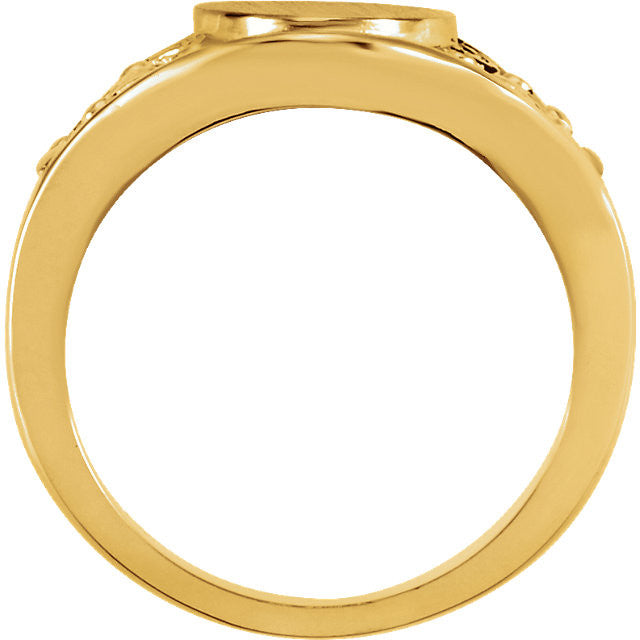 Ring > Signet > Fashion > Gold