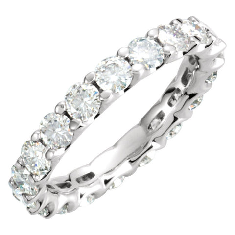 Band > Eternity > Moissanite > Created