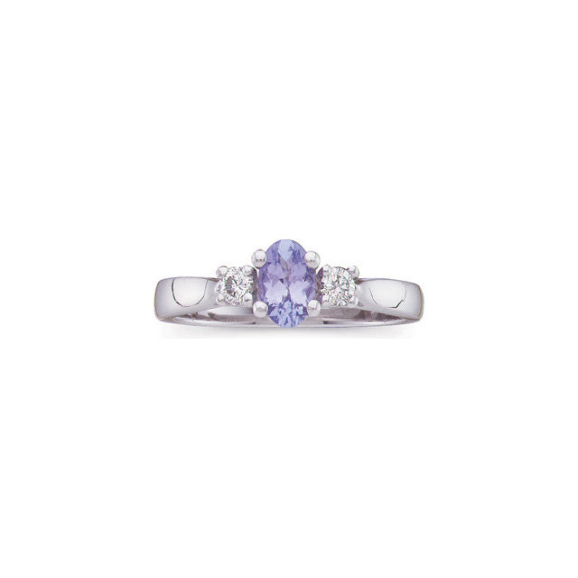 Ring > Tanzanite & Diamond > Genuine