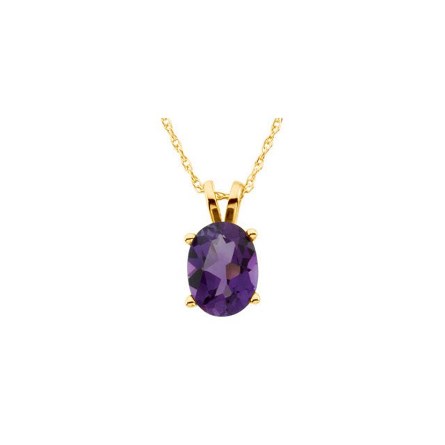 Necklace > Amethyst > Genuine