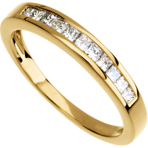 Band > Anniversary > Diamond > Princess-Cut > 1/3 CTW.*Multiple Diamond Cuts and Weights available*