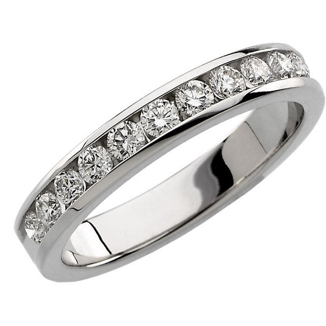 Band > Anniversary > Diamond > Round > 1/2 CTW.*Multiple Diamond Cuts and Weights available*