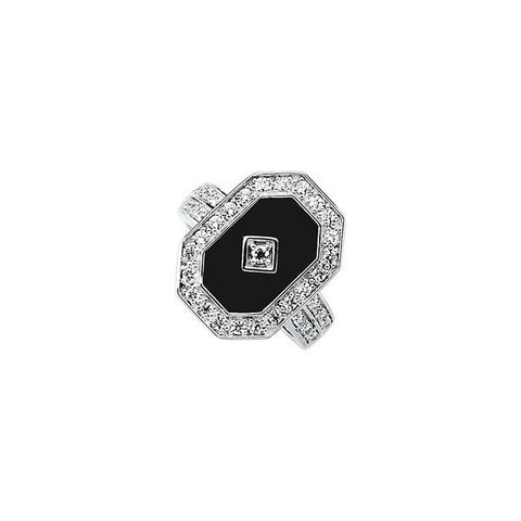 Ring > Zirconia > Onyx & Cubic > Genuine
