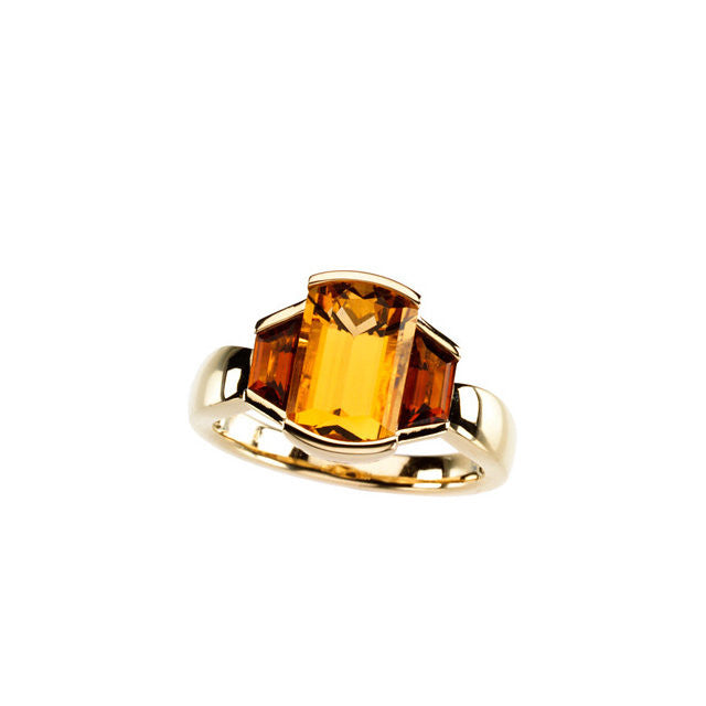 Ring > Citrine > Citrine & Madeira > Genuine