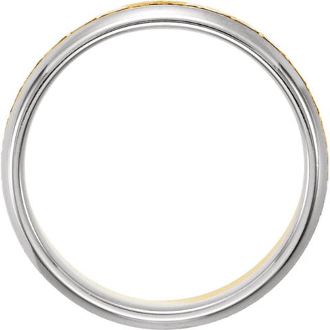 Band > Design > 6mm > Two-Tone > 14kt