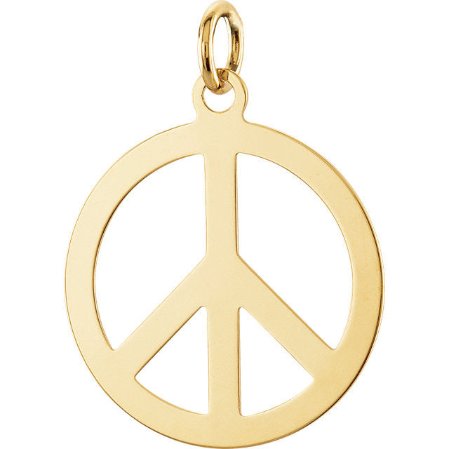 Earrings > Sign > Peace > Circle