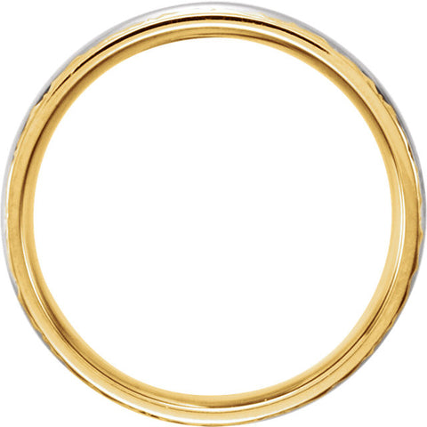 .5 > Band > Comfort-Fit > Two-Tone > 14kt