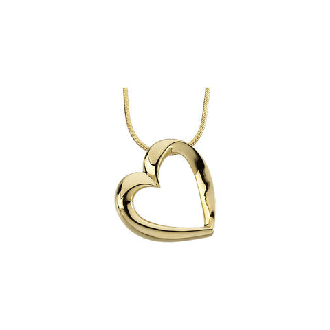 Yellow Gold Plated Sterling Silver Oval Locket 28.67X19.31 Mm