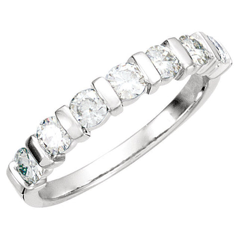 Band > Anniversary > Moissanite > Created > 65722