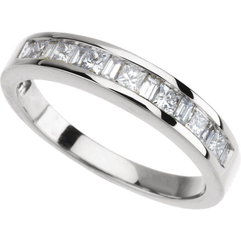 Band > Anniversary > Bridal > Diamond > 1/4 CTW.*Multiple Diamond Cuts and Weights available*