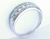 Dazzling 1.00 ctw Diamond Anniversary Ring