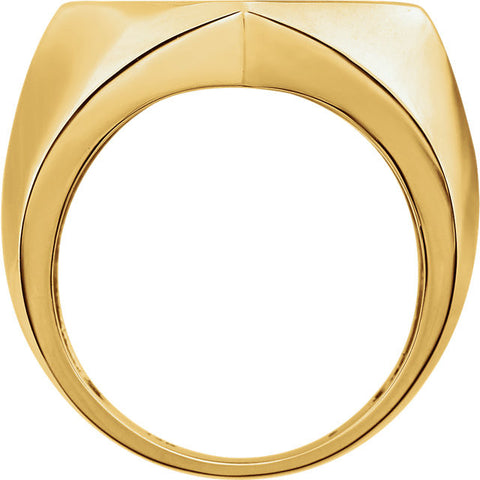 Ring > Men's > Diamond > 1/5 CTW > Two-Tone > 14kt