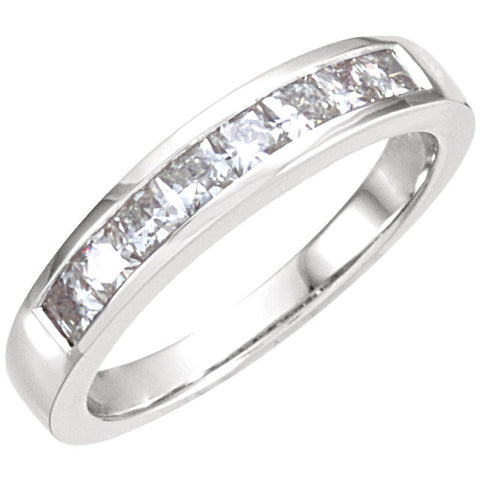Band > Moissanite > Created