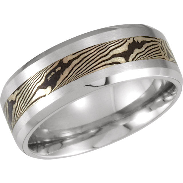 Band > Design > Mokume > 8mm > Cobalt