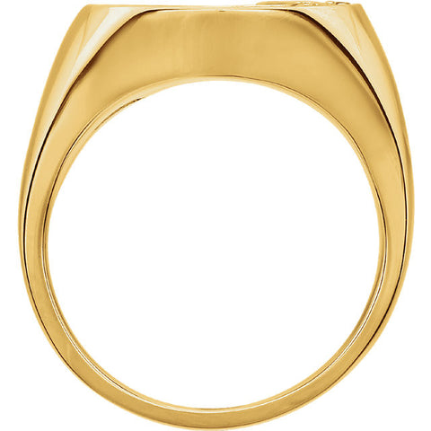 Ring > Men's > Diamond > 1/4 CTW > Two-Tone > 14kt