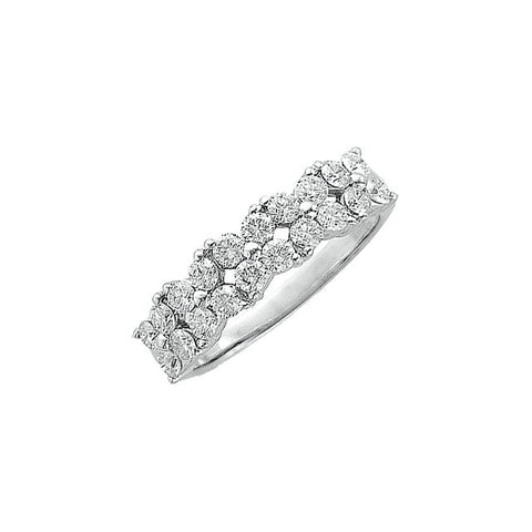 1//8 cttw, Size-5.5 Diamond Wedding Band in 10K Yellow Gold G-H,I2-I3