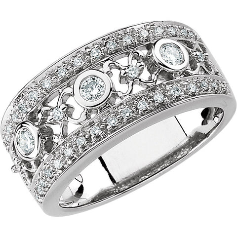 Band > Anniversary > Bridal > Diamond > 1/2 CTW.*Multiple Diamond Cuts and Weights available*