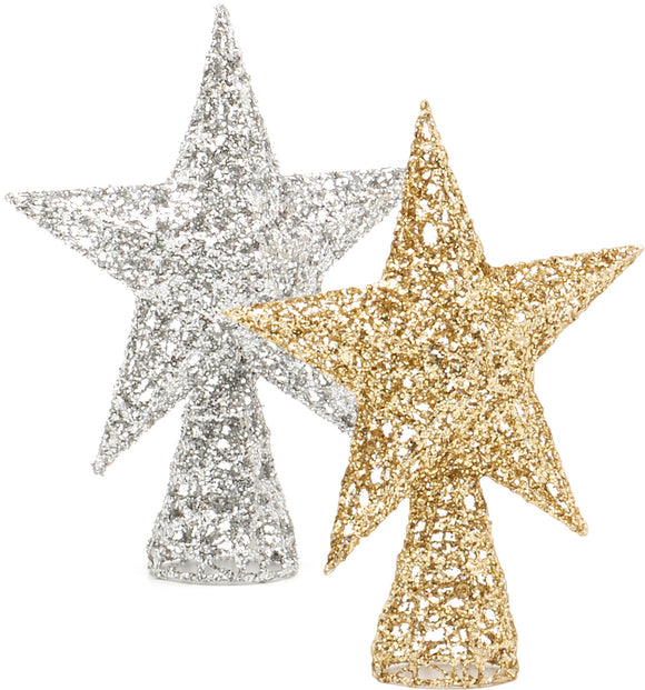 Gold or Silver tree top stars