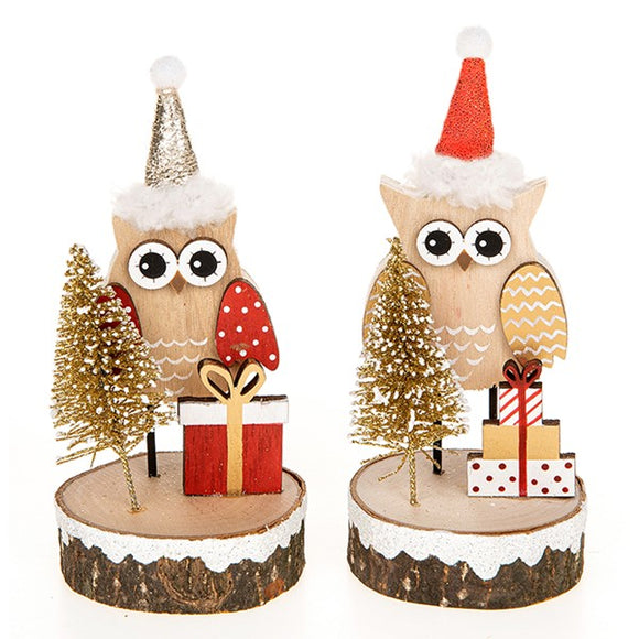 Yuletide Craft Xmas Owl