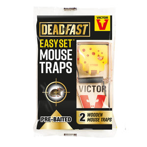 Deadfast Easy Set Mouse Trap Twin