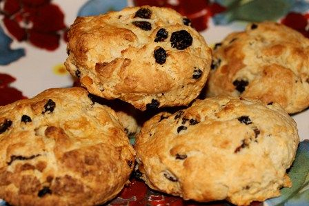 Fruit Scone - Homemade