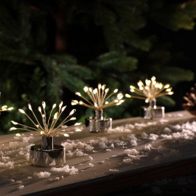 Firework T-Lights with 20 Micro LED's 6pack