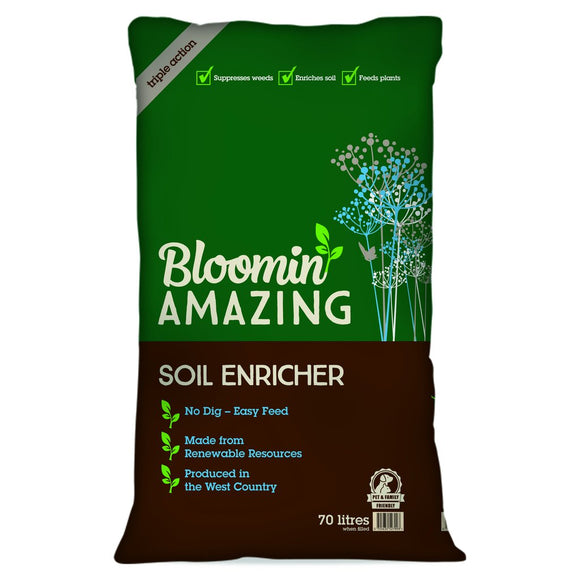Blooming Amazing Soil Enricher by the Duchy of Cornwall - 70Ltr