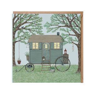 Shepherd'S Hut Card