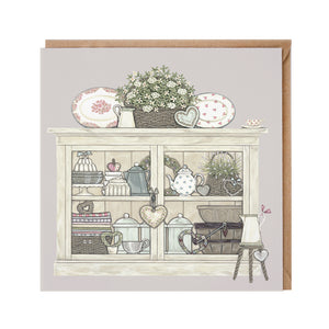 Vintage Cupboard Card