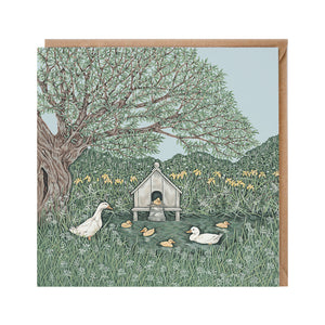 Duck House Card