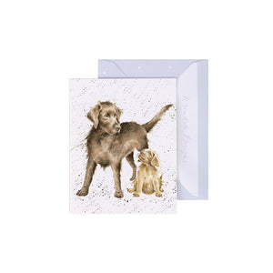 Puppy Love Enclosure Card