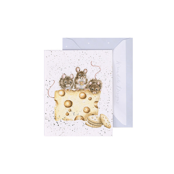 Crackers About Cheese Enclosure Card