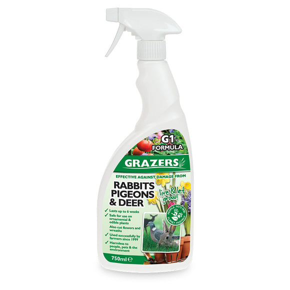 Grazers G1 Rabbit & Deer 750Ml RTU