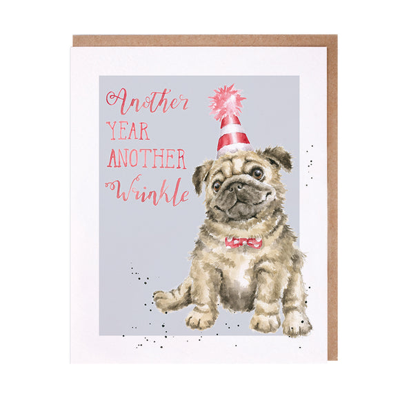 Another Wrinkle Dog Card