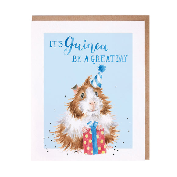 Guinea Be A Great Day Guinea Pig Card