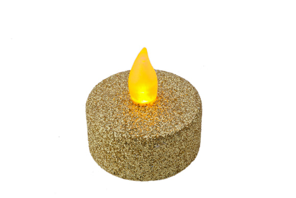 Battery T Light Candles -  4 Colour Options -Set of 4