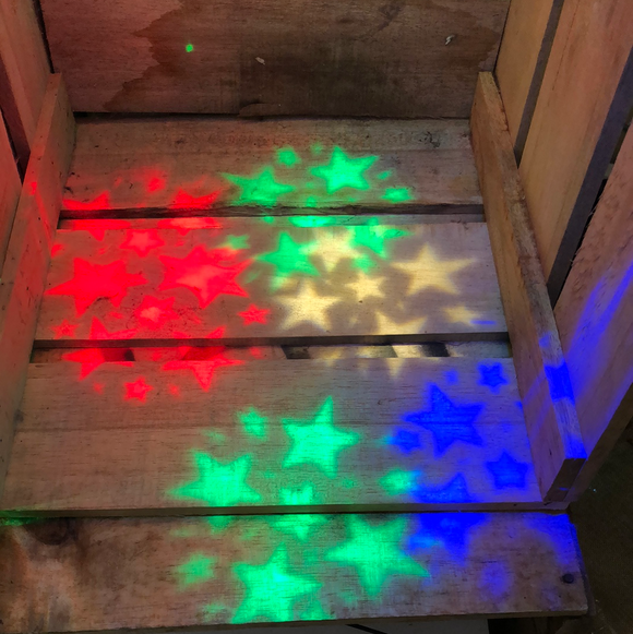 Star or Snow Flake Projector Light Set