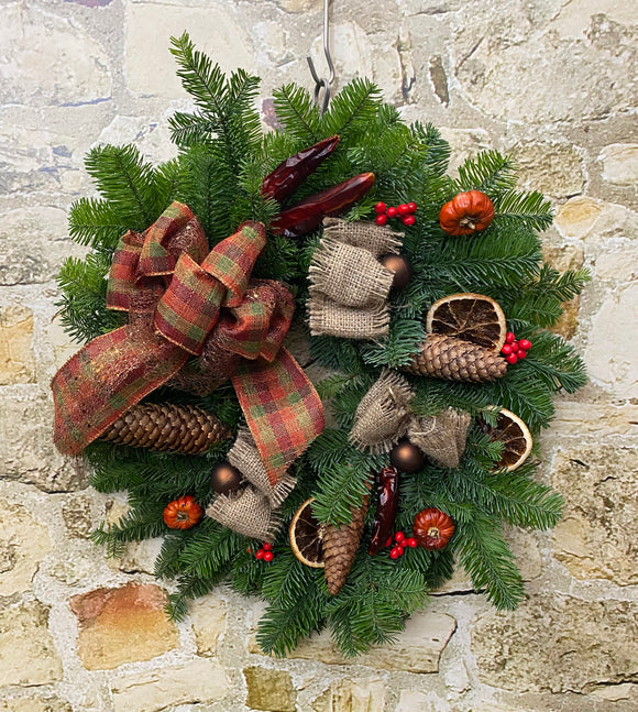 Christmas Door Wreaths DIY Kit