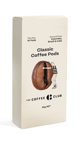 The Coffee Club: Classic Coffee Pods - CARTON (6 Pack)