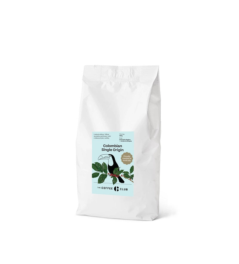 The Coffee Club- Colombian Single Origin - Coffee Beans 250g