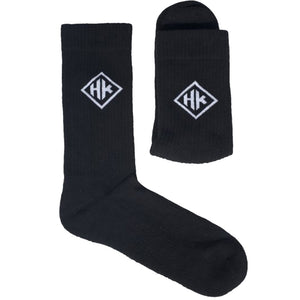 Diamond Logo Socks - Black