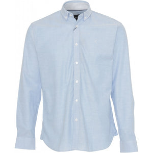 Oxford Plain Skjorte - Light Blue