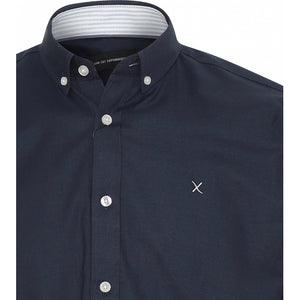 Oxford Plain Skjorte - Navy