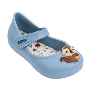 Enchanted Baby Light Blue Toddlers Thongs